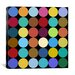 Modern Art Dots Nine Colors Graphic Art on Canvas by iCanvas