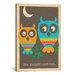 <strong>'Owl Always Love You' by Anderson Design Group Graphic Art on Canvas</strong> by iCanvasArt