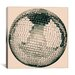 <strong>iCanvasArt</strong> Modern Art Disco Ball Graphic Art on Canvas