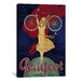 <strong>iCanvasArt</strong> Vintage Posters 'Peugeot Bicycle' Vintage Advertisement on Canvas