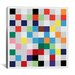 <strong>iCanvasArt</strong> Modern Art cPixilated Tile Art Colorful Square Pattern Modern Graphic Art on Canvas