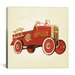 <strong>Modern Art Fire Engine 36 Painting Print on Canvas</strong> by iCanvasArt