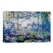 <strong>'Nympheas' by Claude Monet Painting Print on Canvas</strong> by iCanvasArt