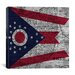 <strong>Flags Ohio Graphic Art on Canvas</strong> by iCanvasArt