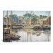 <strong>iCanvasArt</strong> 'Old Gloucester' by Stanton Manolakas Painting Print on Canvas