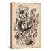 <strong>iCanvasArt</strong> 'Nepenthaceae' by Ernest Haeckel Graphic Art on Canvas