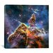 <strong>iCanvasArt</strong> Mystic Mountain in Carina Nebula II (Hubble Space Telescope) Canvas Wall Art