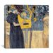 "<strong>iCanvasArt</strong> ""Musik 1895"" Canvas Wall Art by Gustav Klimt"