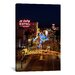 <strong>iCanvasArt</strong> Panoramic 'El Cortez, Las Vegas, Nevada' Photographic Print on Canvas