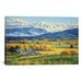 iCanvasArt 'October Gold' by Randy Van Beek Painting Print on Canvas