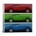 <strong>Modern Art Vintage Aston Martin Graphic Art on Canvas</strong> by iCanvasArt
