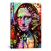 <strong>'Mona Lisa' by Dean Russo Graphic Art on Canvas</strong> by iCanvasArt