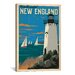 <strong>'New England' by Anderson Design Group Vintage Advertisement on Canvas</strong> by iCanvasArt
