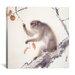 """<strong>iCanvasArt</strong> """"Monkey"""" Canvas Wall Art by Hashimoto Kansetsu"""