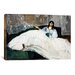 'Portrait of Jeanne Duval' by Edouard Manet Painting Print on Canvas by iCanvas