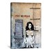 "<strong>Luz Graphics ""Post No Bills"" Graphic Art on Canvas</strong> by iCanvasArt"
