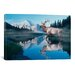 <strong>Reflections of Glacier by Gordon Semmens Photographic Print on Canvas</strong> by iCanvasArt