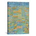 iCanvasArt 'Primary Route and Bypasses' by Paul Klee Painting Print on Canvas
