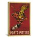 <strong>iCanvasArt</strong> 'Porto Pitters' by Leonetto Cappiello Vintage Advertisement on Canvas