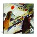 """iCanvasArt """"Romantic Landscape"""" Canvas Wall Art by Wassily Kandinsky"""