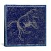 <strong>iCanvasArt</strong> Celestial Atlas - Plate 6 (Ursa Major) by Alexander Jamieson Graphic Art on Canvas in Blue