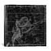 iCanvasArt Celestial Atlas - Plate 19 (Libra, Scorpio) by Alexander Jamieson Graphic Art on Canvas in Black