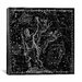 iCanvasArt Celestial Atlas - Plate 7 (Canes Venatici) by Alexander Jamieson Graphic Art on Canvas in Black