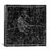 <strong>iCanvasArt</strong> Celestial Atlas - Plate 15 (Gemini) by Alexander Jamieson Graphic Art on Canvas in Black