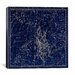<strong>iCanvasArt</strong> Celestial Atlas - Plate 4 (Auriga) by Alexander Jamieson Graphic Art on Canvas in Blue