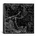 iCanvasArt Celestial Atlas - Plate 12 (Pegasus, Equuleus) by Alexander Jamieson Graphic Art on Canvas in Black