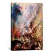 <strong>iCanvasArt</strong> 'The Fall of the Damned' by Peter Paul Rubens Painting Print on Canvas