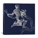 iCanvasArt Astronomy and Space Water Bearer (Aquarius) Graphic Art on Canvas in Blue