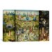 <strong>'The Garden of Earthly Delights 1504' by Hieronymus Bosch Painting ...</strong> by iCanvasArt