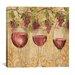 "iCanvasArt ""Wine Harvest II"" Canvas Wall Art by Anne Tavoletti"