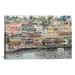 "<strong>iCanvasArt</strong> ""San Pedro Harbor"" Canvas Wall Art by Stanton Manolakas"