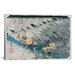 "iCanvasArt ""Shono from the Fifty-Three Stations on Tokaido Highway"" Canvas Wall Art by Utagawa Hiroshige l"