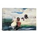 <strong>iCanvasArt</strong> 'The Turtle Pound 1898' by Winslow Homer Painting Print on Canvas