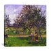 "<strong>iCanvasArt</strong> ""The Wheelbarrow"" Canvas Wall Art by Camille Pissarro"