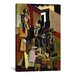 <strong>Fine Art 'The Visit' by Max Weber Painting Print on Canvas</strong> by iCanvasArt