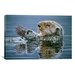 "<strong>""Sea Otter with Urchin"" Canvas Wall Art by Ron Parker</strong> by iCanvasArt"