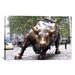 iCanvasArt Political The Wall Street Bull Photographic Print on Canvas