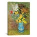 <strong>'Vase with Daisies and Anemones' by Vincent Van Gogh Painting Print...</strong> by iCanvasArt