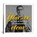 <strong>iCanvasArt</strong> Sherlock Holmes Quote Canvas Wall Art