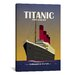 <strong>'Titanic Ocean Liner Art Deco' by Michael Tompsett Vintage Advert...</strong> by iCanvasArt