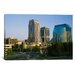 iCanvasArt Panoramic Skyscrapers in a City, Sacramento, California Photographic Print on Canvas