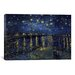 <strong>'Starry Night over the Rhone' by Vincent Van Gogh Painting Print on...</strong> by iCanvasArt