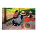 iCanvasArt 'The Siesta' by Paul Gauguin Painting Print on Canvas