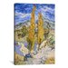 <strong>'The Poplars at Saint-Remy' by Vincent Van Gogh Painting Print on C...</strong> by iCanvasArt