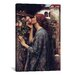 iCanvasArt 'The Soul of The Rose' by John William Waterhouse Painting Print on Canvas