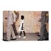 <strong>iCanvasArt</strong> 'The Problem We All Live with (Ruby Bridges)' by Norman Rockwell Painting Print on Canvas